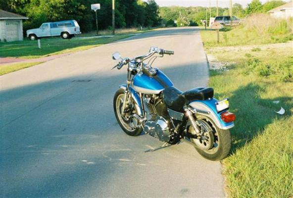 1991 HD FXRS Low Rider Redone for 2006 - Photo 441