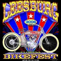 leesburg bikefest 2006 logo